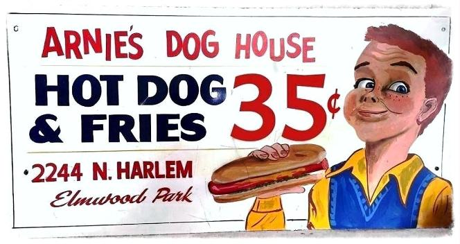 ARNIE'S DOG HOUSE ELMWOOD PARK IL.