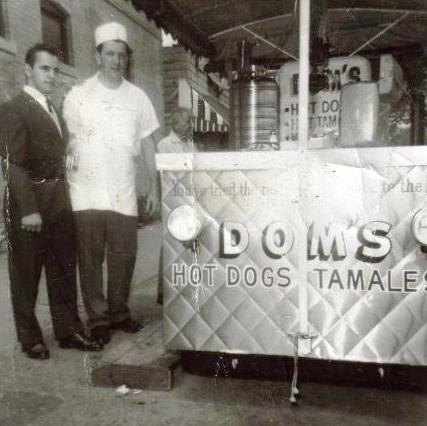 dom's hot dogs melrose park