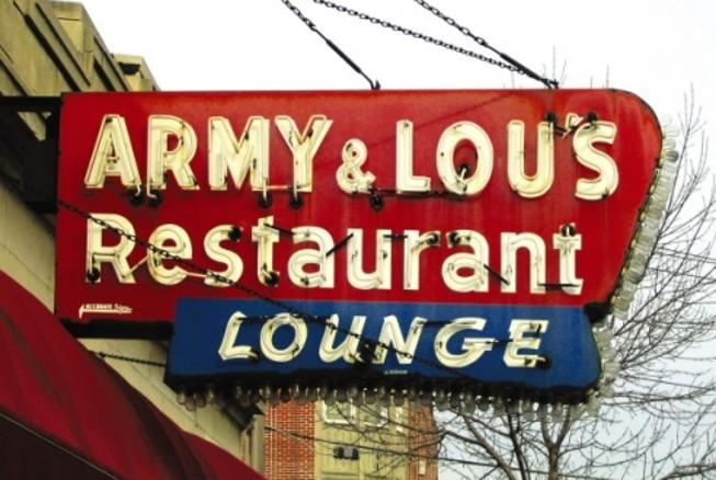 ARMY & LOU'S