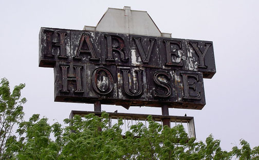 fred harvey restaurants harvey house