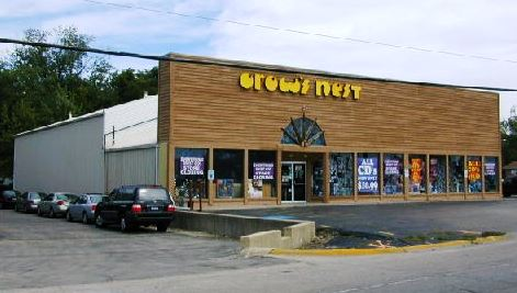crow's nest music store