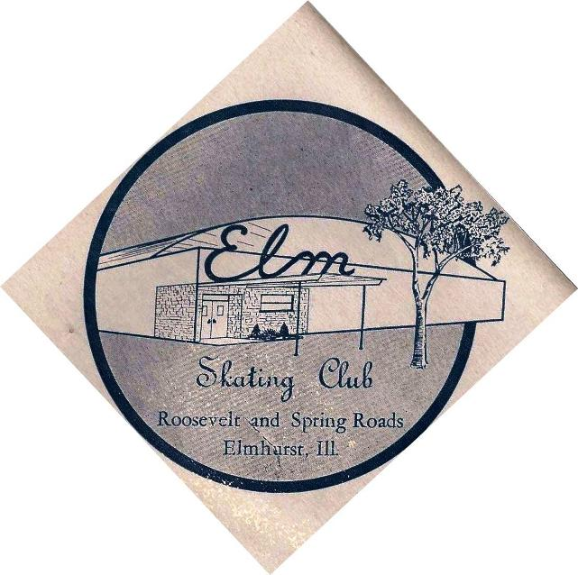 ELM SKAKING RINK CLUB ELMHURST ILLINOIS
