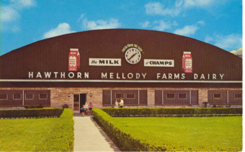 Hawthorn Mellody Farms Dairy / Milwaukee Ave. Libertyville, IL. (1937-1970)