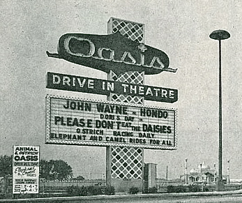 OASIS DRIVE IN THEATRE