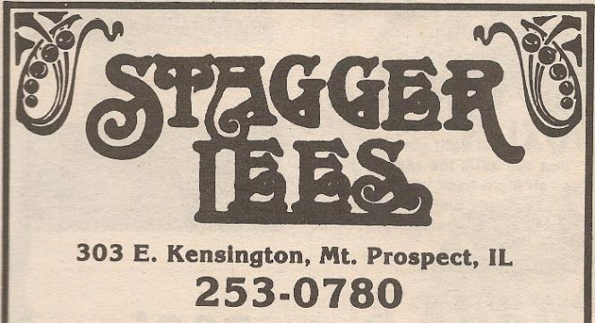 Stagger Lees Mt. Prospect Lee's