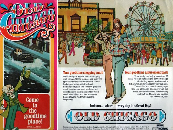 Old Chicago Shopping Mall & Amusement Park / 555 S.Bolingbrook Dr. Bolingbrook, IL. (1975-1980)