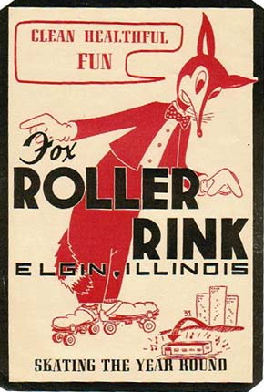 fox roller rink elgin illinois