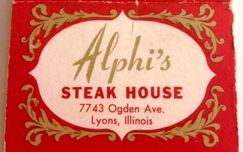ALPHI'S STEAK HOUSE LYONS