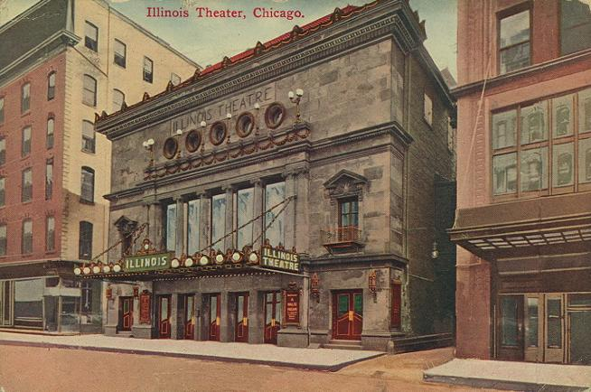 illinois theatre chicago