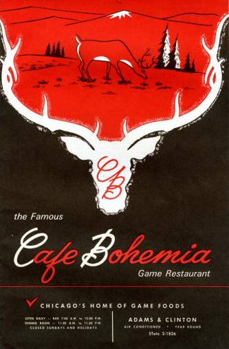 cafe bohemia chicago game restaurant