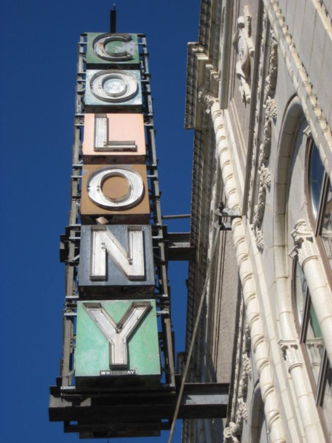 Colony Theater    3208 W. 59th Street,   Chicago,  IL 60629