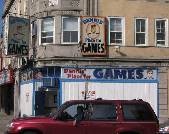 dennis' place for games chicago