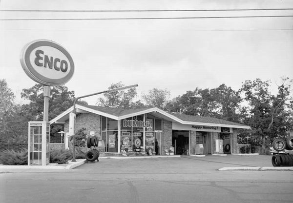 enco gas station