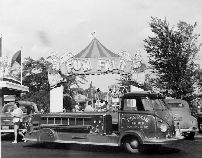 Fun Fair Amusement Park - Skokie, IL. (1948-1968)