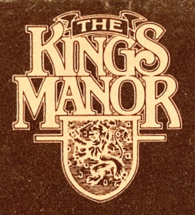 The Kings Manor