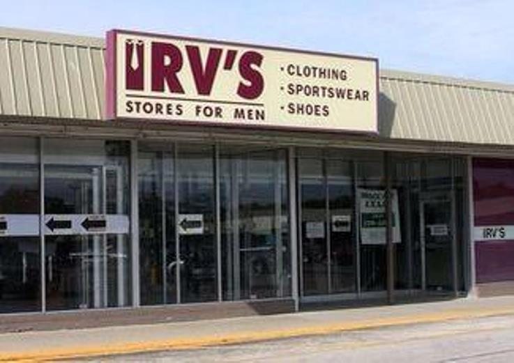 irv's menswear chicago men's
