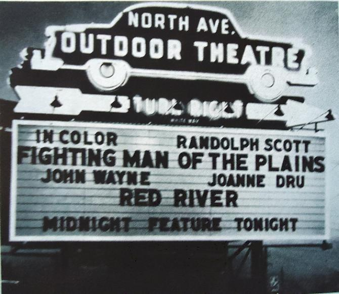 North Ave. Outdoor Theatre avenue drive-in