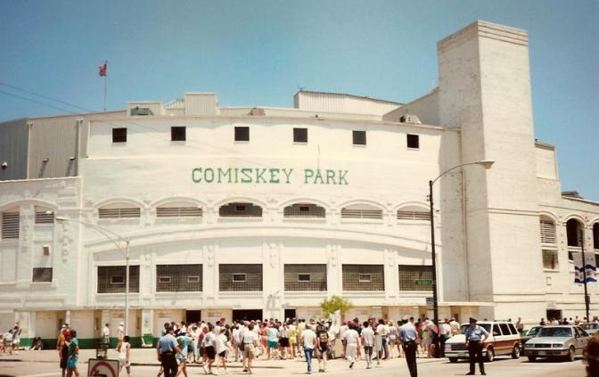 Comiskey Park white sox